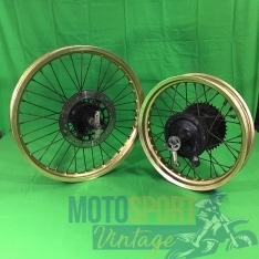 Coppia Ruote Honda color oro