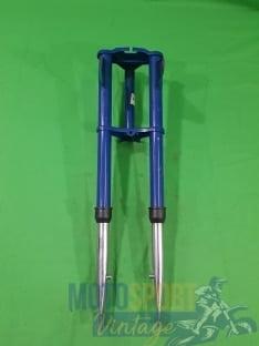 forcella ciclomotore epoca colore blu