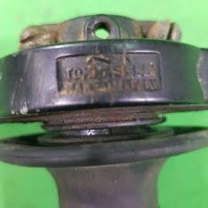 comando gas tommaselli in alluminio epoca