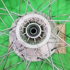 ruota anteriore 21 mozzo conico