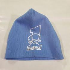 cappellino di lana cagiva azzurro