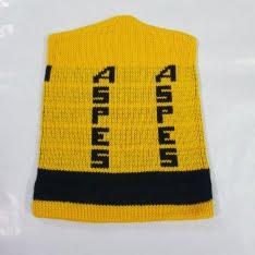cappellino di lana aspes giallo