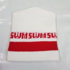 cappellino di lana swm bianco