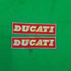 logo da ricamare Ducati
