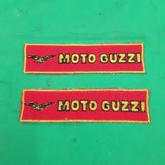 logo da ricamare Moto Guzzi