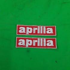logo da cucire Aprilia