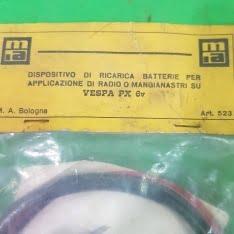 dispositivo di ricarica batteria vespa px